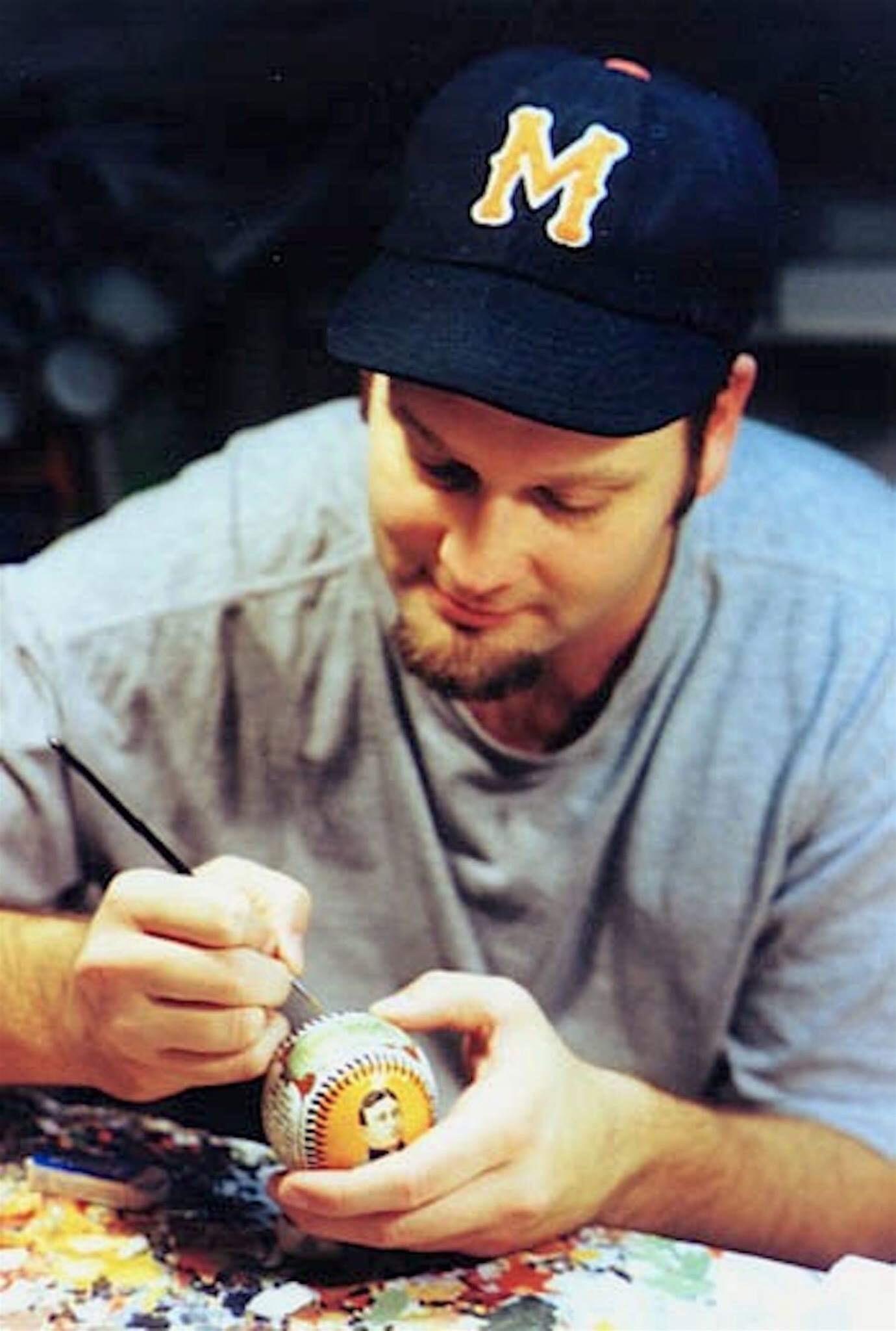 monty sheldon - baseball artist